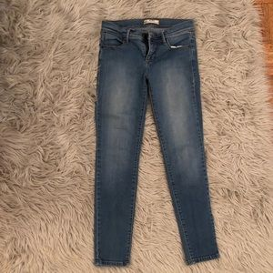 Free People size 26 light wash jeans